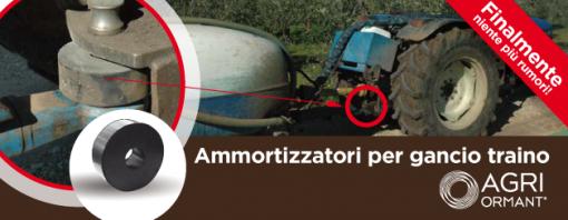 Ammortizzatori per gancio traino di Agriormant: un grande successo