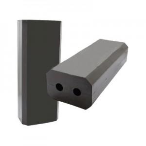 Tampone in gomma lungo 600mm – 2 Fori