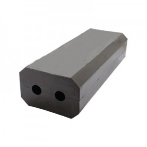 Tampone in gomma lungo 500mm – 2 Fori
