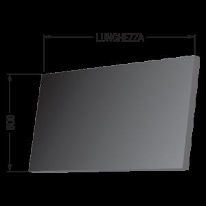 Fascia tre tele larghezza 500mm