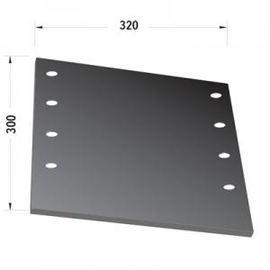 Fascia laterale compatibile scuotitore Berardinucci P60-P70-P75