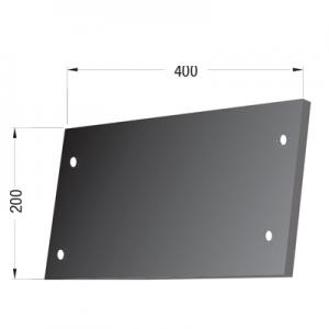 Fascia laterale compatibile scuotitore Verdegiglio